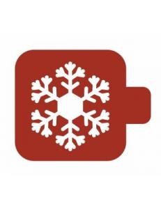 """Трафарет пластиковый Модуль Новый год М9Нг-00 """"Волшебная снежинка"""" 9х9 см, Event Design"""