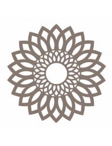 """Трафарет маска ассорти НМС-59 """"Геометрический цветок"""" 15х15 см, Event Design"""