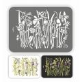 Трафарет пластиковый Весенняя клумба, серия Флора Винтаж, 21х32 см, Event Design