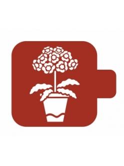 Трафарет для росписи Модуль Флора Примулы, 9х9 см, Event Design