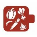 "Трафарет пластиковый Модуль Кухня М9Кх-58 ""Овощи"" 9х9 см, Event Design"