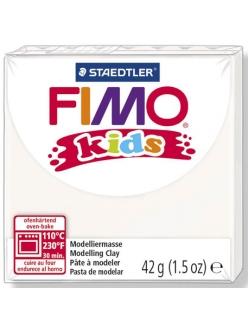 Полимерная глина FIMO Kids белый, Германия