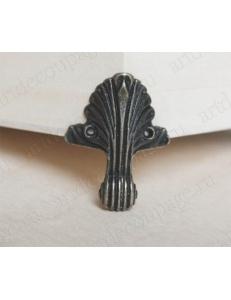 Ножки для шкатулок, 47х35 мм, цвет античная бронза, 4 штуки