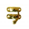 Замок крючок 3,4х2 см, цвет золото