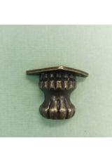 Ножки для шкатулок, 2,5х2,5х2,7 см, цвет античная бронза, 4 штуки