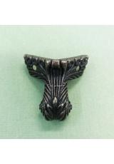 Ножки для шкатулок, 3,4х3,4х3,5 см, цвет античная бронза, 4 штуки