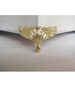 Ножки для шкатулок, 2х2,5 см, цвет золото, 4 штуки