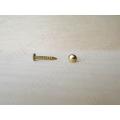 Мини-гвоздь для фурнитуры 8 мм, цвет золото