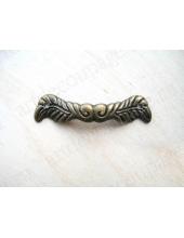 Ручка для шкатулки 45х10 мм, цвет античная бронза