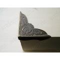 Декоративый уголок для шкатулок 40х40х10 мм, цвет античная бронза, 4 штуки