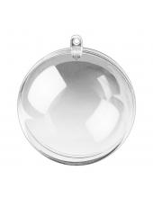 Заготовка шар прозрачный пластиковый 12 см, Glorex (Швейцария)
