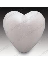"""Заготовка из пенопласта """"Сердце"""", 9 см, Glorex (Швейцария)"""