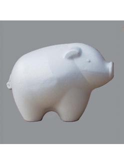 Фигурка  из пенопласта Поросенок 15х11 см, Германия