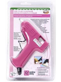 Клеевой пистолет для скрапбукинга низкотемпературный HEMLINE