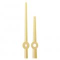 Стрелки для часов золотистые, металл, 119/80 мм, Hermle (Германия)