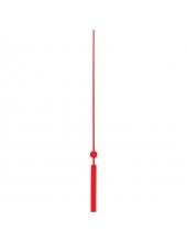 Стрелка секундная для часового механизма 83 мм, красный металл, Hermle (Германия)
