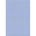 """Бумага для скрапбукинга двусторонняя """"Клетка синяя"""", формат А4, Heyda (Германия)"""