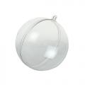 Заготовка шар разъемный, прозрачный пластик, 12 см, HEMLINE (Австралия)