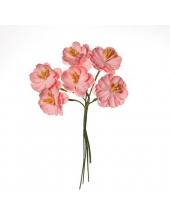 Цветы для скрапбукинга Вишня кудрявая розовая, ScrapBerry's