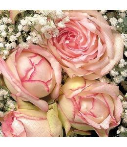 "Салфетка для декупажа ""Королевский цветок"", 25х25 см, Германия"