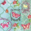 """Салфетка для декупажа """"Сад бабочек"""", 33х33 см, Германия"""