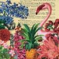 """Салфетка для декупажа """"Тропический сад"""", 33х33 см, Германия"""