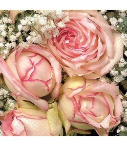 """Салфетка для декупажа """"Королевская роза"""", 33х33 см, Германия"""