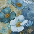 """Салфетка для декупажа """"Голубые цветы"""", 33х33 см, Германия"""