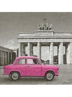Салфетка для декупажа Берлин, 33х33 см