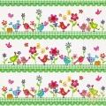 """Салфетка для декупажа """"Птички и цветочки"""", 33х33 см, Германия"""