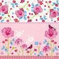 "Салфетка для декупажа ""Розовый сад"", 33х33 см, Германия"