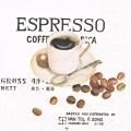 "Салфетка для декупажа ""Чашка кофе эспрессо"", 25х25 см, Германия"