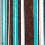 """Салфетка для декупажа """"Голубые и коричневые полоски"""", 33х33 см"""