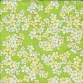 """Салфетка для декупажа """"Цветочный ковер на зеленом"""", 33х33 см, Германия"""