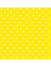 """Салфетка для декупажа """"Горох насыщенно-желтый"""", 33х33 см, Польша"""
