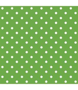 """Салфетка для декупажа """"Горох зеленый"""", 33х33 см, Польша"""