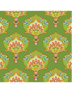 """Салфетка для декупажа """"Индийский стиль зеленый"""", 33х33 см, Польша"""