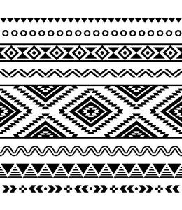 """Салфетка для декупажа """"Этнический орнамент"""", 33х33 см, Польша"""