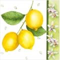 "Салфетка для декупажа ""Лимоны"", 33х33 см"