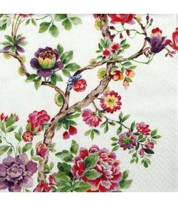 "Салфетка для декупажа ""Японский сад"", 33х33 см, Польша"