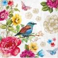 "Салфетка для декупажа ""Райская птица"", 33х33 см, Германия"