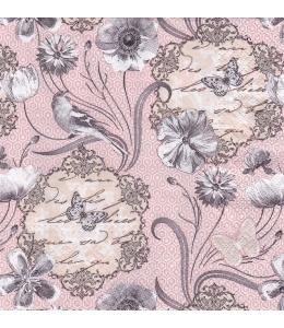 """Салфетка для декупажа """"Викторианские цветы"""", 33х33 см, Польша"""