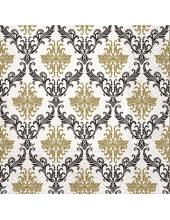 """Салфетка для декупажа """"Королевский орнамент Золото"""", 33х33 см, Paw"""