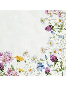"Салфетка для декупажа ""Летние цветы"", 33х33 см, Польша"