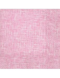 "Салфетка для декупажа ""Льняное полотно розовый"", 33х33 см, Paw"
