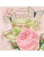 """Салфетка для декупажа """"Утренний чай"""", 33х33 см, Германия"""