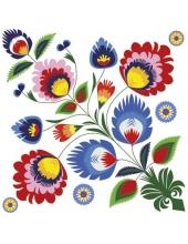 "Салфетка для декупажа ""Орнамент цветок"", 33х33 см, Германия"