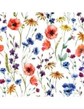 """Салфетка для декупажа """"Цветы полевые"""", 33х33 см"""