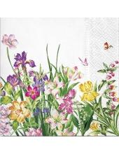 """Салфетка для декупажа """"Весенний сад"""", 33х33 см"""