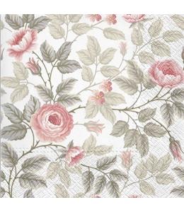"""Салфетка для декупажа """"Туманные розы"""", 33х33 см"""